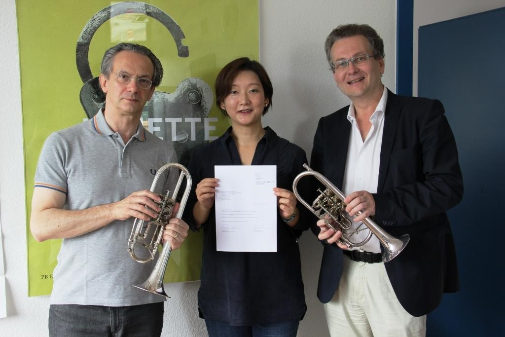 Zurich Opera - 3 trumpets