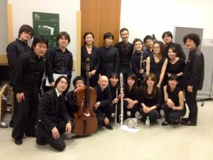 Ensemble Factory 2014 After Performance
